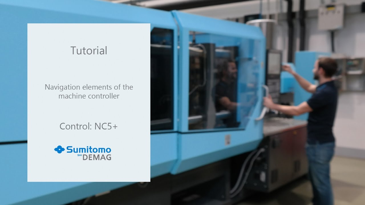 Tutorial Basic functions of the NC5 control unit - Sumitomo (SHI) Demag