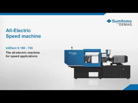 Packaging Lid with NEW IntElect S all-electric speed machine
