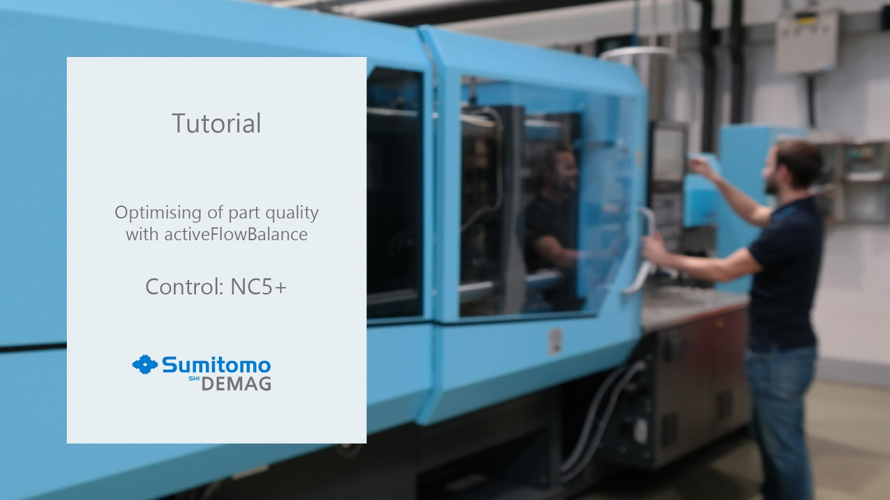Tutorial Usage of activeFlowBalance with IntElect machines - Sumitomo (SHI) Demag